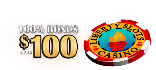 $100 Welcome Bonus at Liberty Slots Online Casino